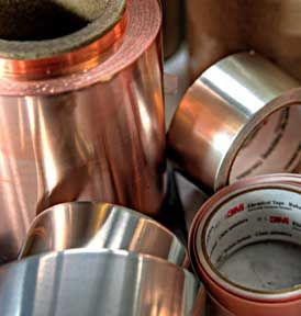 Copper Used to Make Gaskets From Apex Die and Gasket